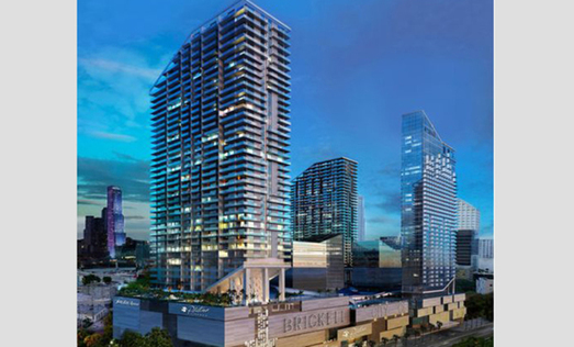 Brickell Condo Project Bucs Norm of Putting 50% Down
